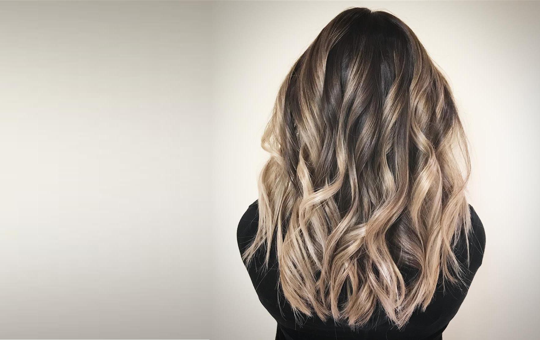 Окрашивание волос в технике балаяж фото